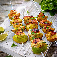 Honey & Lime Chicken Kebabs