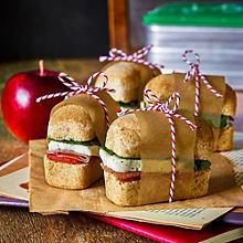 Mini Mediterranean Sandwiches
