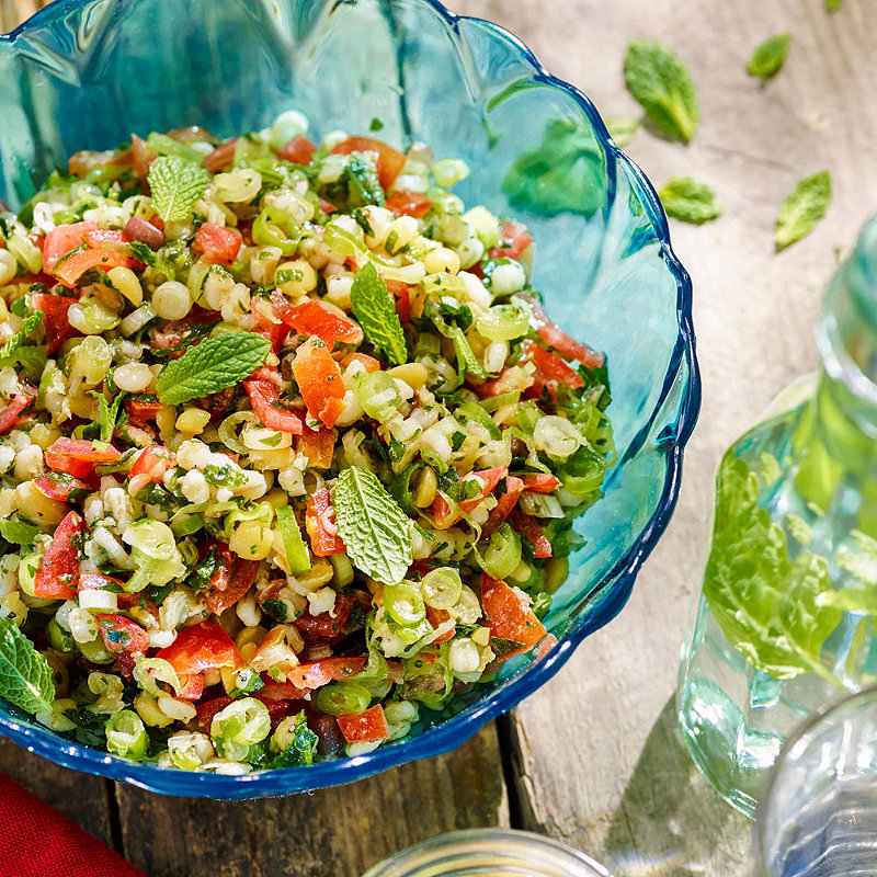 Mixed Grain Tabbouleh