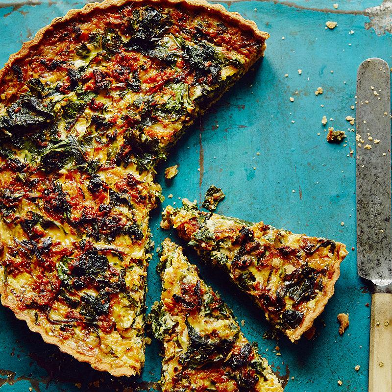 Anna Jones's A Light Tart of Butternut Squash and Kale in Vegetarian ...