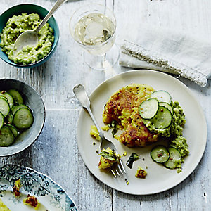 Anna Jones's Dosa-spiced Potato Cakes