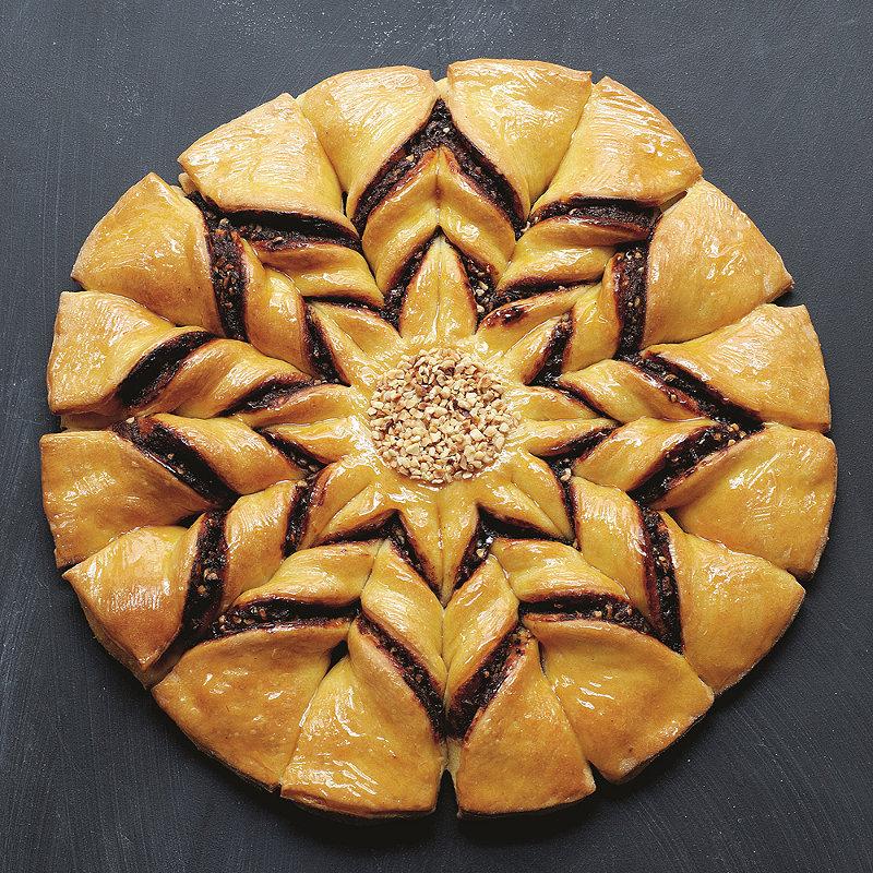 Italian Pepper Bread Chriatmas Cake