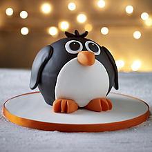 Penguin Hemisphere Cake