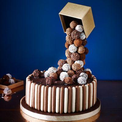 Chocolate Truffle Cake Decoration Ideas : Cascading Chocolate Truffle Cake in recipes at Lakeland