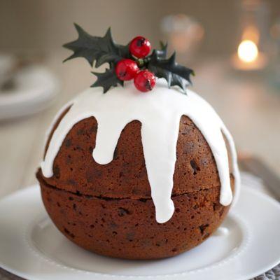 christmas pudding cake recipes lakeland