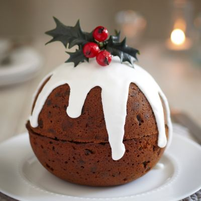 Christmas Cake Recipes Pictures : Christmas Pudding Cake in recipes at Lakeland