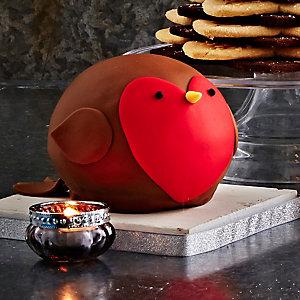 Christmas Robin Cake