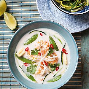 Davina's Thai Prawn Coconut Soup