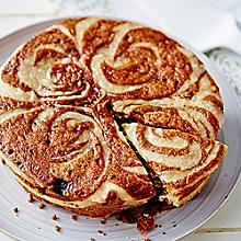Microwave Cinnamon Swirl Cake