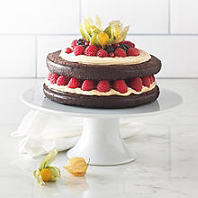Lucy Bee's Dark Chocolate Cake with Dairy-free Frosting