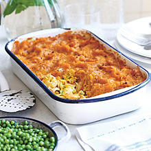 Lucy Bee's Rainbow Fish Pie