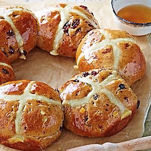 Cinnamon & Honey Hot Cross Buns