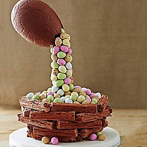 Easter Egg Cascade Cake