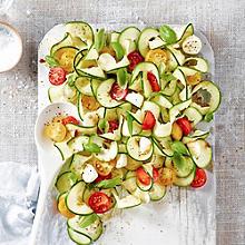 Caprese Courgette Salad