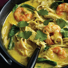Prawn Curry Laksa
