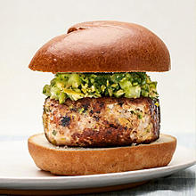 Tom Kerridge's Pork and Feta Burger