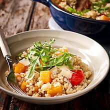 Butternut Squash, Roasted Pepper & Sage Risotto
