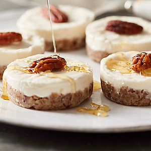 Vanilla & Honey Kefir Cheesecakes