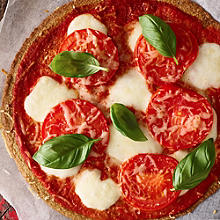 Margherita Pizza with Quinoa Crust