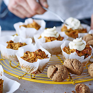 Joe Wicks's carrot and apple muffins