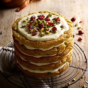 Pistachio & Courgette Cake