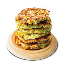 tuna and sweetcorn fritters