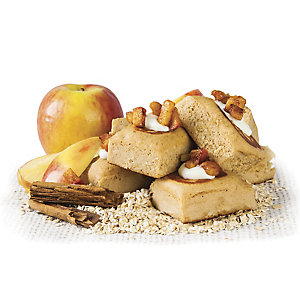 cinnamon protein cakes
