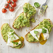 avocado on sourdough toast