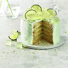 gin & tonic layer cake