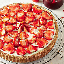 Classic Strawberry Tart - Serves 4-6