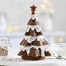 3D Gingerbread Christmas Tree