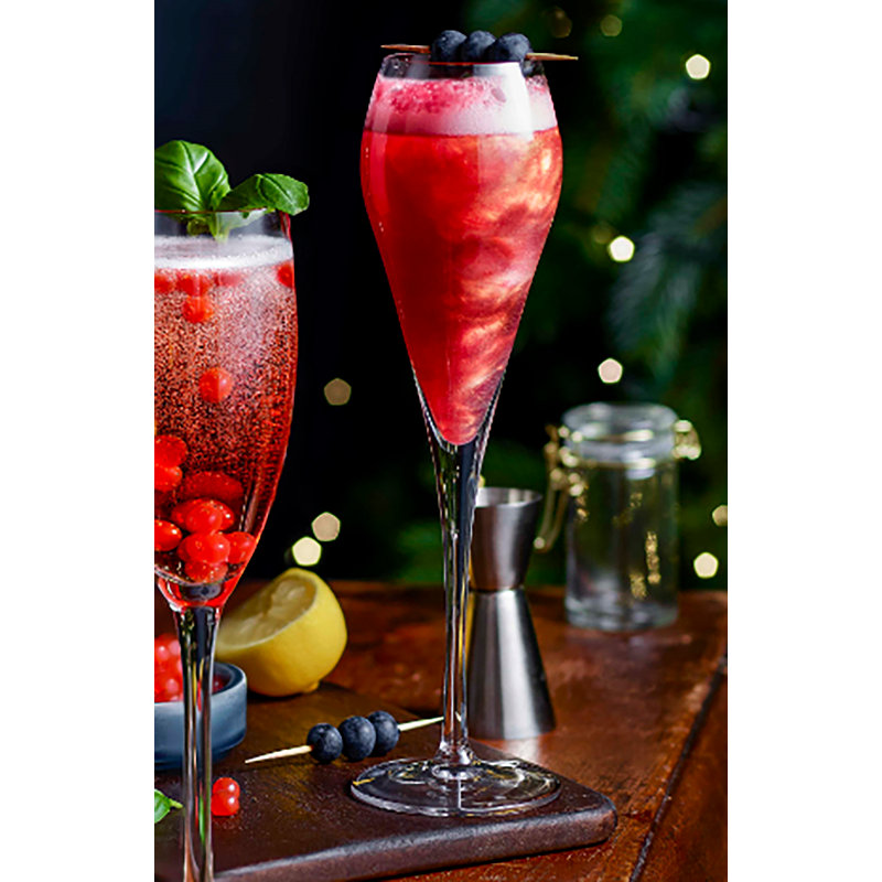 Prosecco Rose Royale with PopaBalls