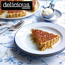 Lemony treacle tart