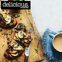 Garlic mushrooms on toast recipe