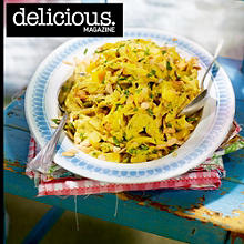 Coronation chicken with mango and lime