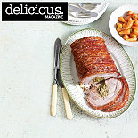 Roast pork with crispy crackling