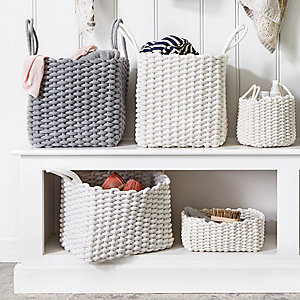 woven rope organisers