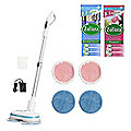 AirCraft Powerglide Cordless Floor Cleaner and Zoflora Mixed Fragrance Bundle