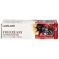 100 Flat Freezeasy Food Freezer Bags 18 x 23cm