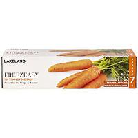 100 Flat Freezeasy Food Freezer Bags 30 x 46cm