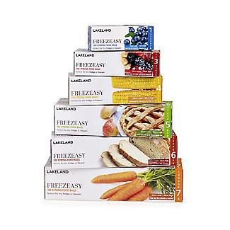 100 Flat Freezeasy Food Freezer Bags 30 x 46cm alt image 2