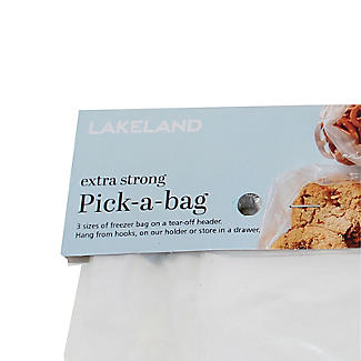 125 Pick A Bag Flat Freezer Bags - Assorted Sizes alt image 3