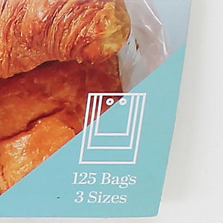 125 Pick A Bag Flat Freezer Bags - Assorted Sizes alt image 5