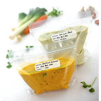 Gefrierbeutel für Suppen und Saucen 1 Liter, 20 Stück alt image 2