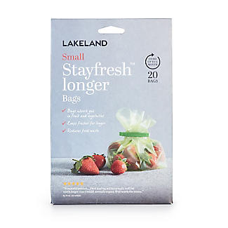 20 Lakeland Stayfresh Longer Vegetable Storage Bags 20 x 23cm alt image 3