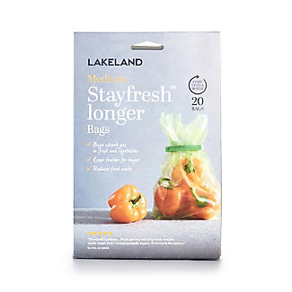 20 Lakeland Stayfresh Longer Vegetable Storage Bags 25 x 38cm alt image 3