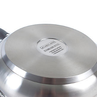 Lakeland Stainless Steel Non-Stick Frying Pan - 24cm alt image 4