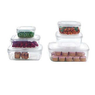 Microwavable Square Food Storage Container 0.6L alt image 4