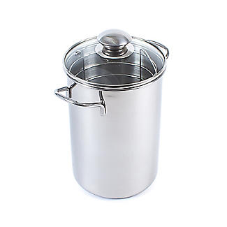 Stainless Steel Upright Asparagus Steamer Kettle 2.8L alt image 2