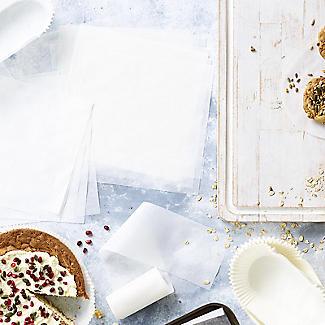 100 Baking Parchment Liner Paper Squares 18cm alt image 2